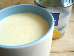 Corn cream soup (2)
