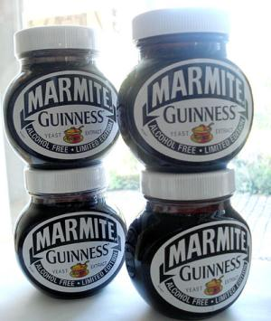 4 Jars of Guinness Marmite