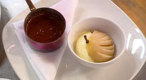 Steven Wallis winning menu for Masterchef 2007 - dessert