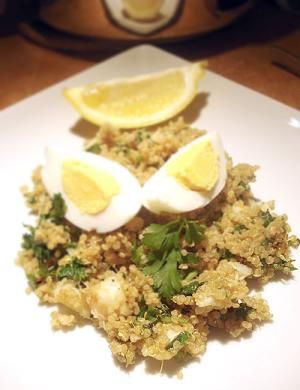 Quinoa kedgeree