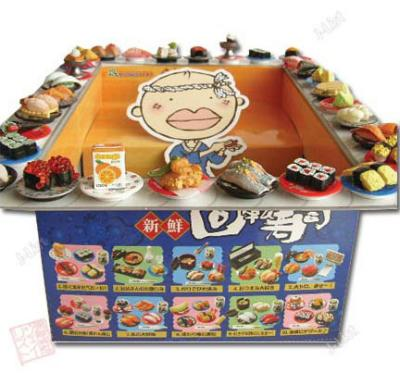Re-ment Kaiten Sushi set