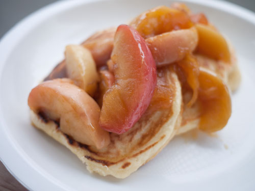 caramelized apples