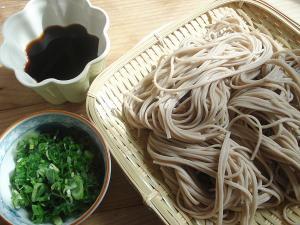 Cold soba noodles (1)