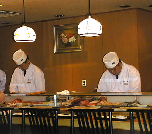 IMG: sushi counter