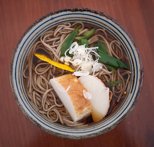 img: a hot and steamy bowl of soba noodles to end the year