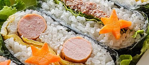 Onigirazu (rice sandwiches)